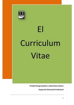 Plantillas Currículum Vitae básicas en formato Word